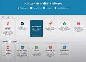 Create and Publish Alexa Skills